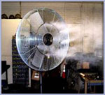 Evaporative Mist Indoor Fan