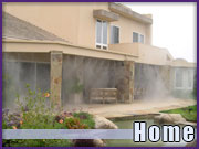 Outdoor Misting Fans and Systems for Residential