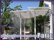 Patio Misting Systems for Outdoor Cooling